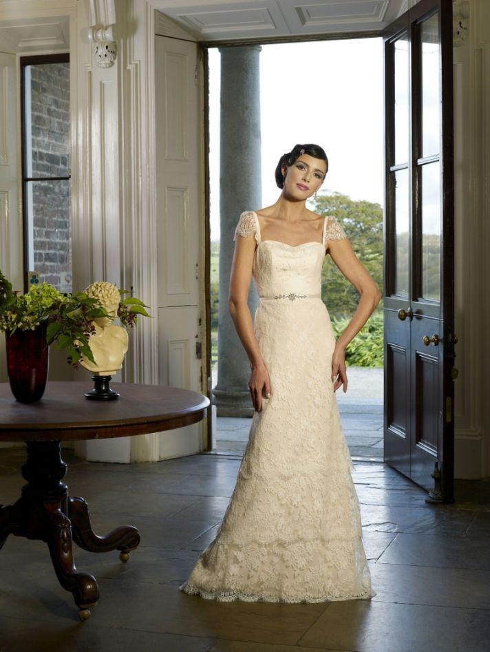 Salesa wedding dress by Kathy de Stafford 2013 bridal