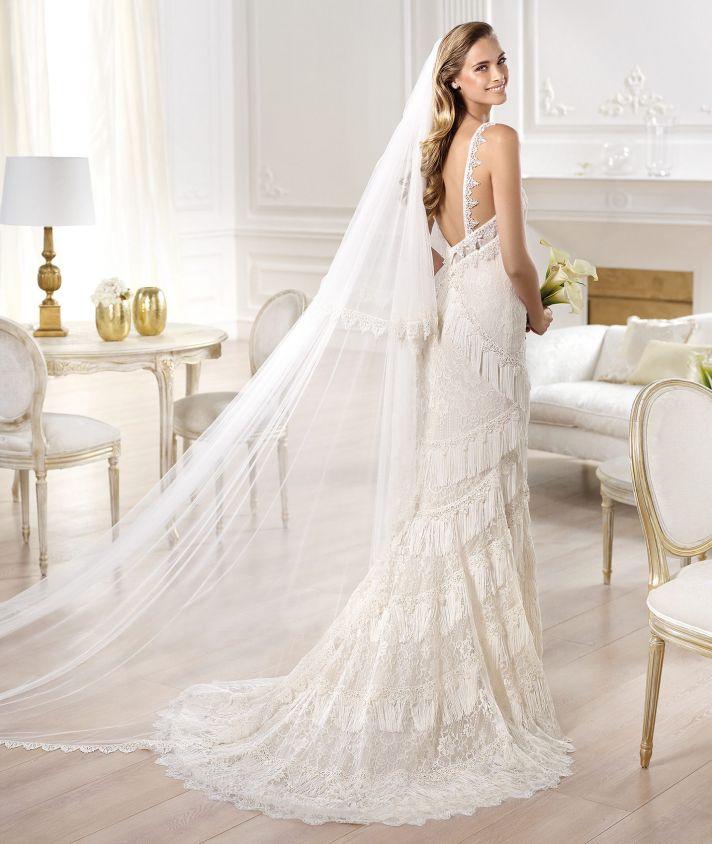 YADAROLA wedding dress by Atelier Pronovias 2014 bridal