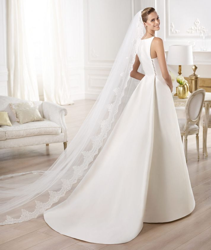 YELIBETH wedding dress by Atelier Pronovias 2014 bridal