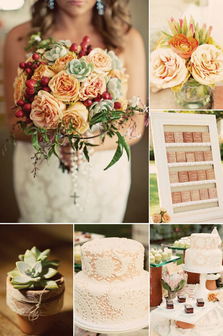 fall vintage wedding color palette - Fall Colors For A Wedding