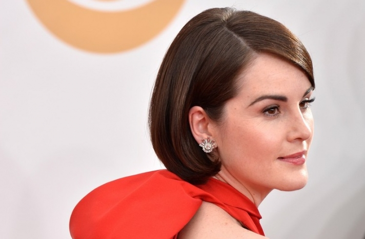 2013 Emmys wedding hair and makeup inspiration Michelle Dockery