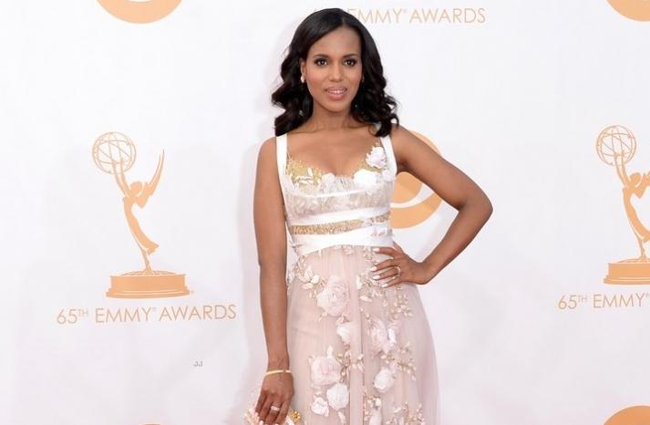 2013 Emmys wedding hair and makeup inspiration Kerry Washington