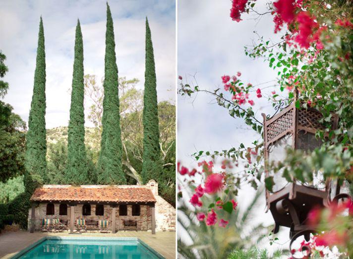 Real wedding in Simi Valley California Hummingbird Ranch venue