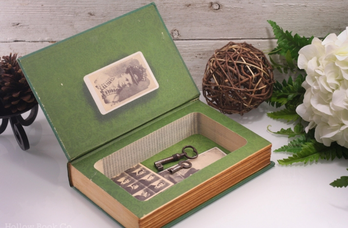 wedding ring bearer alternative with upcycled vintage book