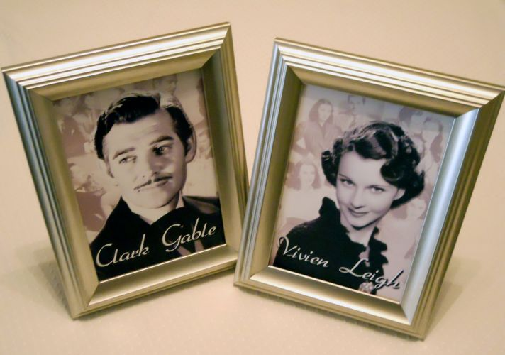 old hollywood weddings table numbers