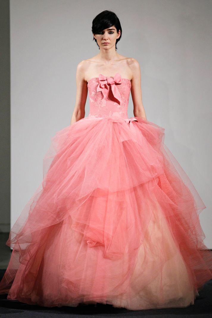 Wedding dress by Vera Wang Fall 2014 bridal collection 4