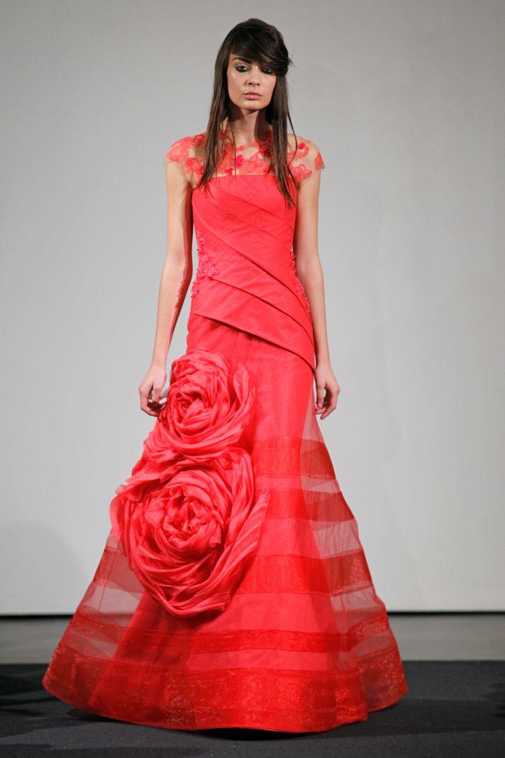 Wedding dress by Vera Wang Fall 2014 bridal collection 9