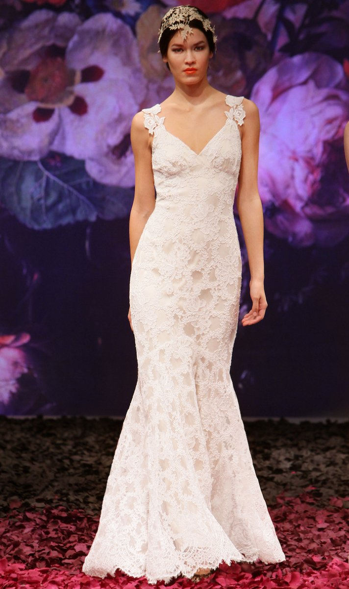Belladonna wedding dress by Claire Pettibone 2014 Still Life bridal collection