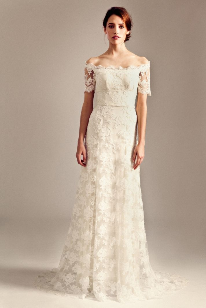 Sienna wedding dress by Temperley London Fall 2014 bridal