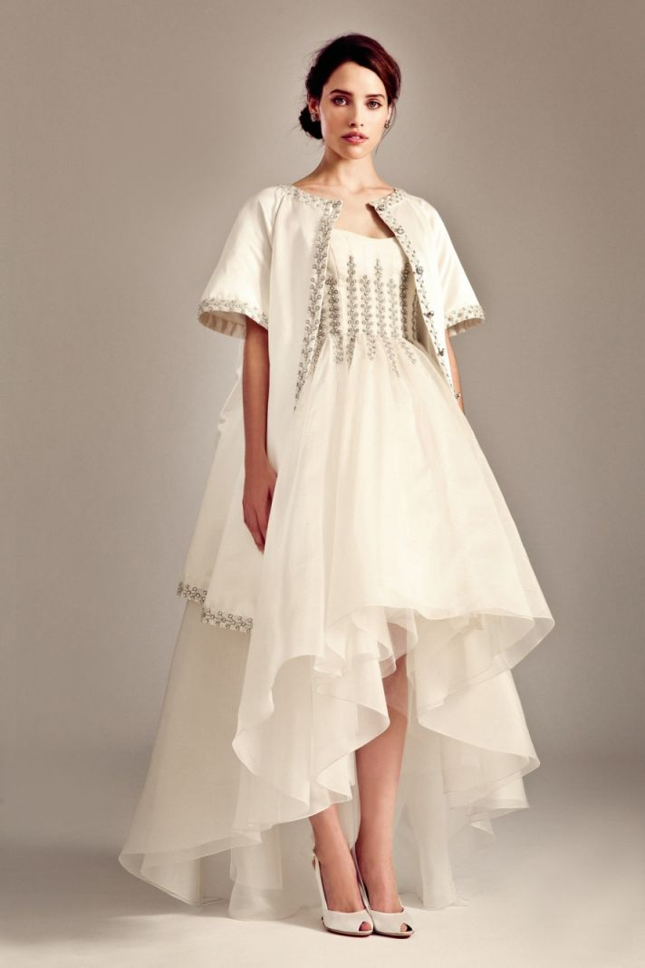 Aralia wedding dress by Temperley London Fall 2014 bridal