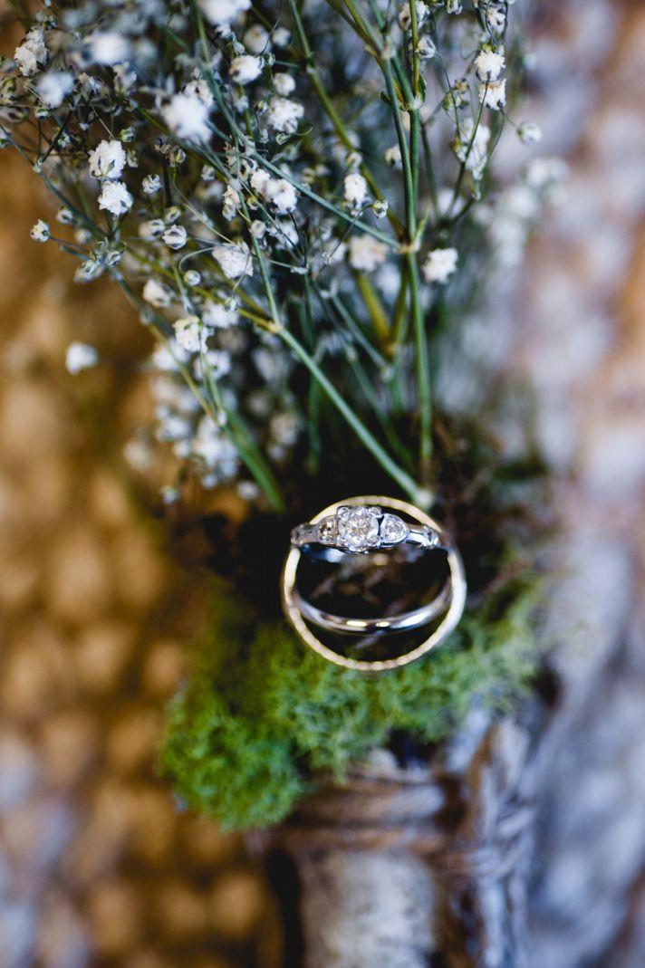 Rustic elegant wedding twisted braided bridal updo