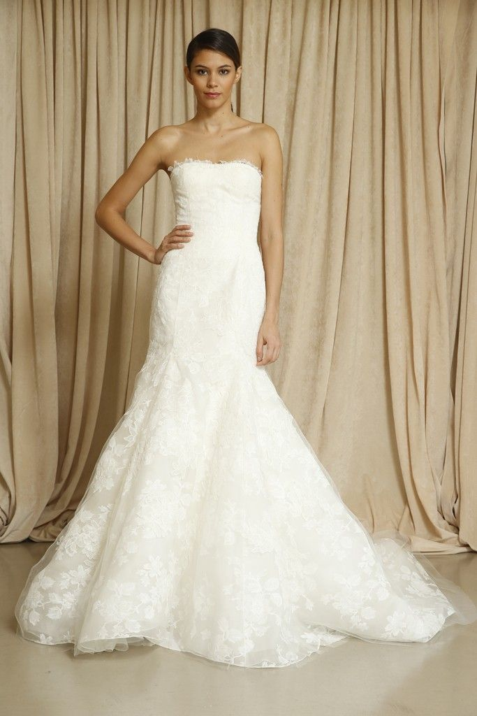 10 new wedding gowns by oscar de la renta onewed With oscar de la renta wedding dresses