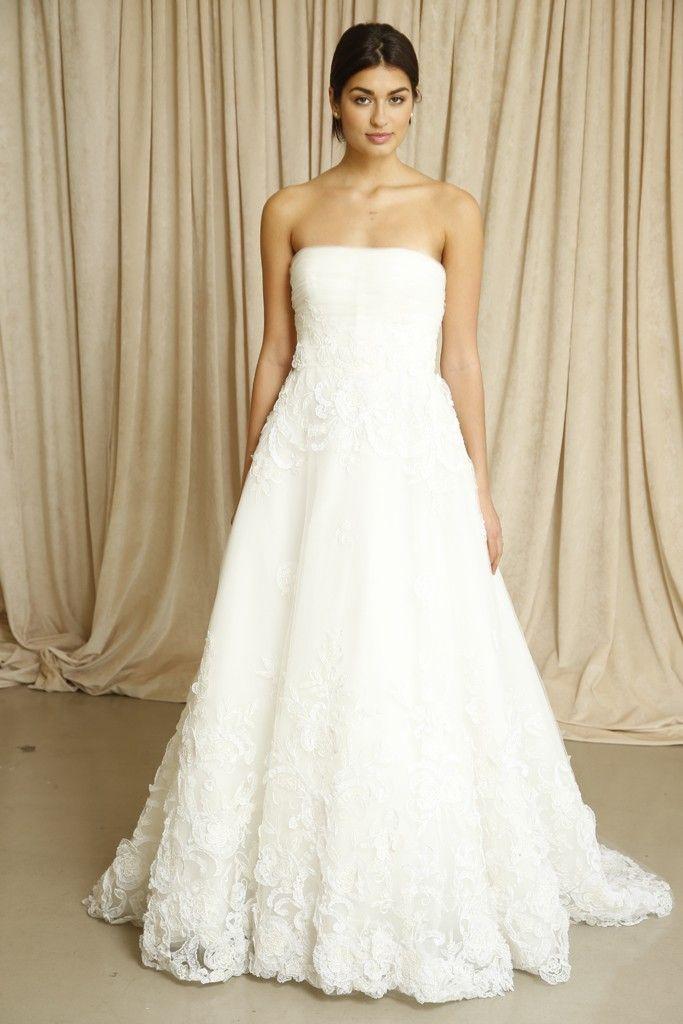 Oscar de la Renta wedding dress Fall 2014 1