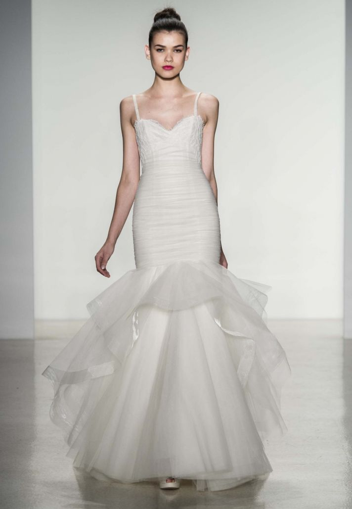 10 Divine Wedding Dresses From Amsale Fall 2014 OneWed