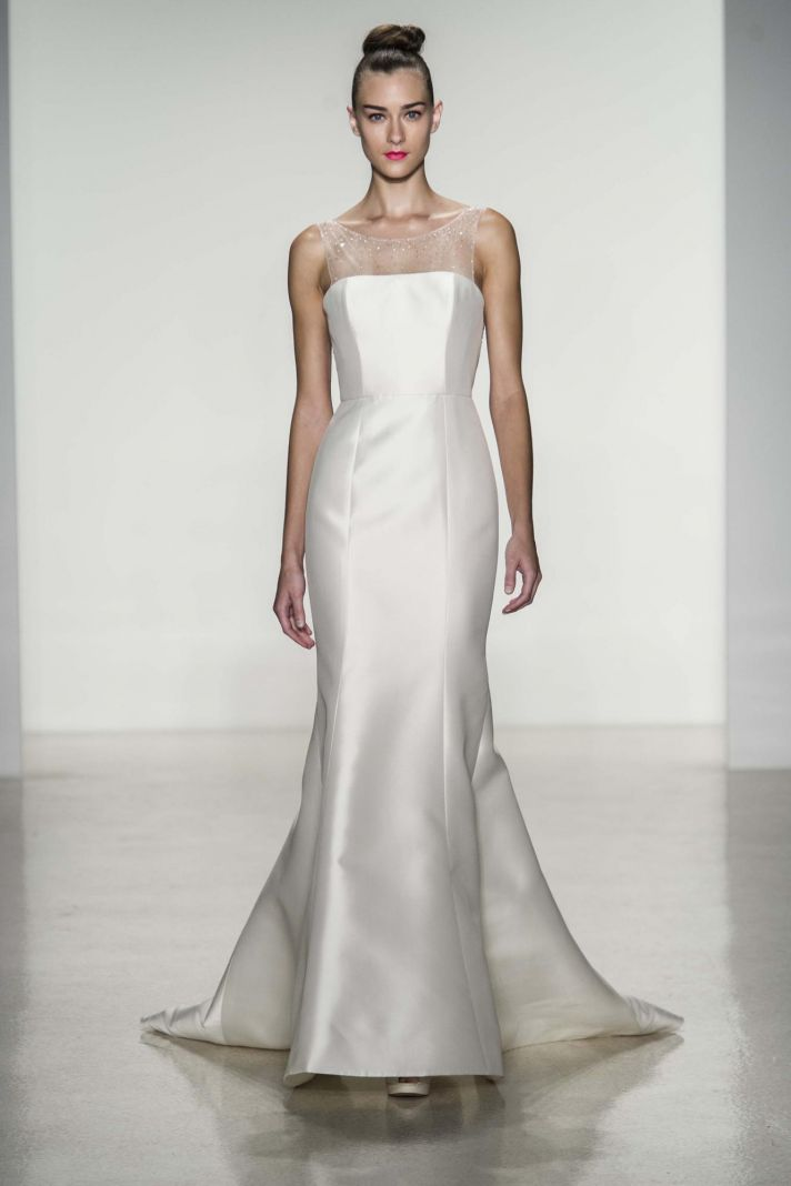 10 divine wedding dresses from amsale fall 2014 preston wedding dress by amsale fall 2014 bridal junglespirit Image collections