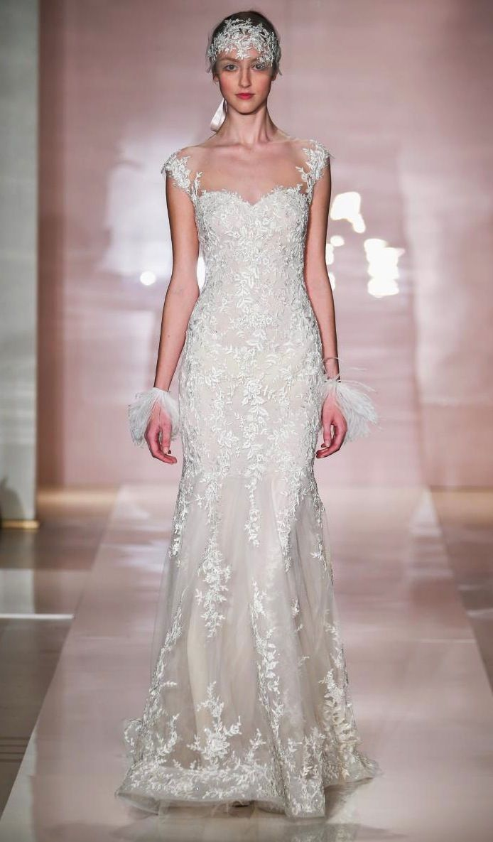 frances wedding dress by reem acra fall 2014 bridal