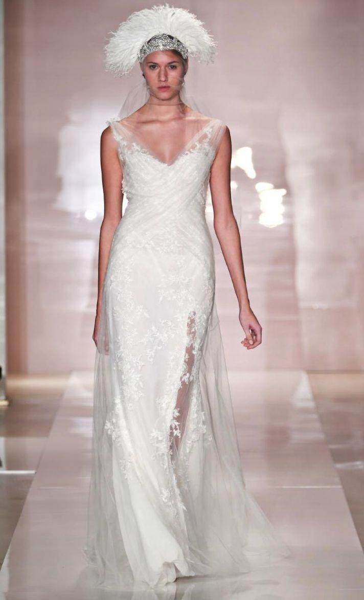 Alisa 2 wedding dress by Reem Acra Fall 2014 Bridal
