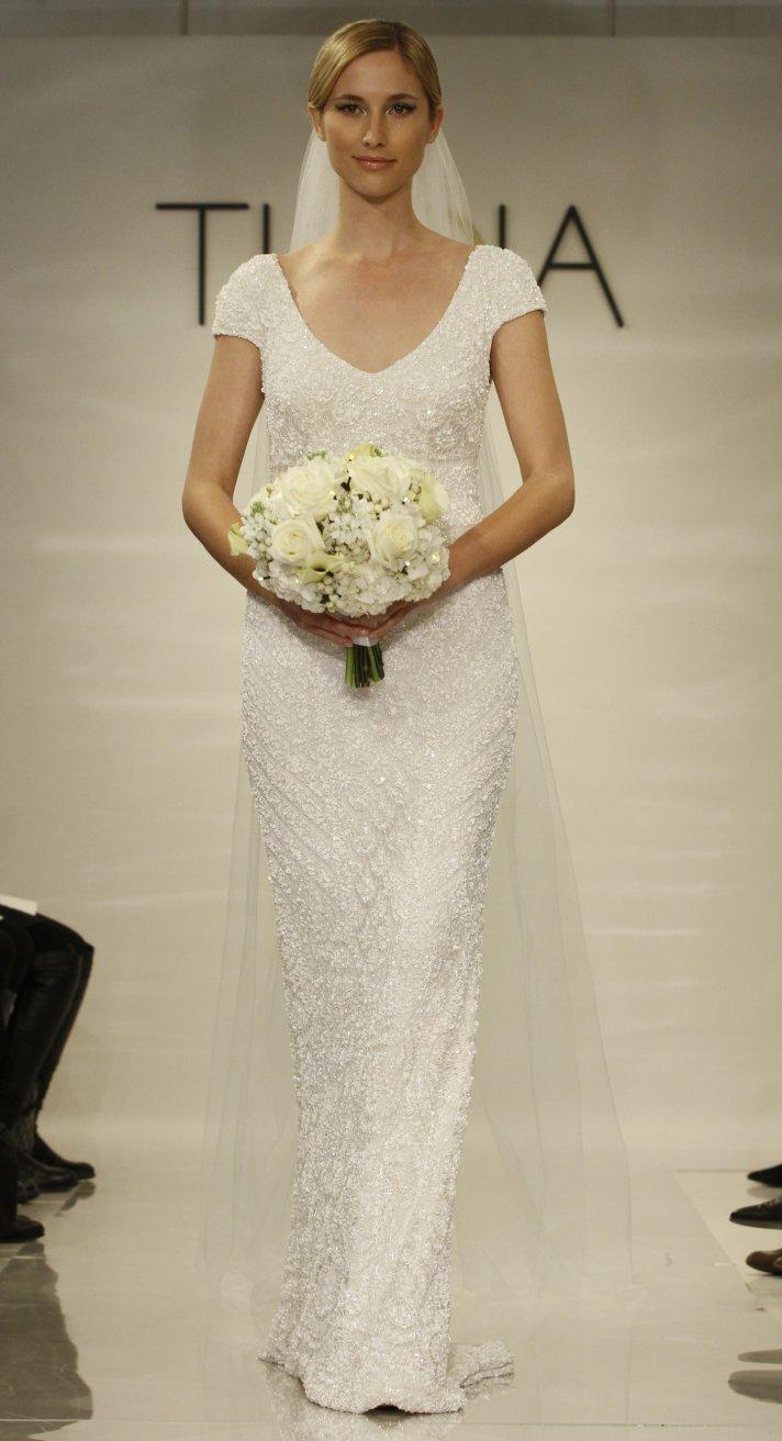 Lilia wedding dress by Theia Fall 2014 Bridal