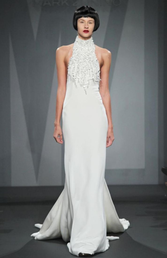 Mark Zunino wedding dress for Kleinfeld Fall 2014 Bridal 16