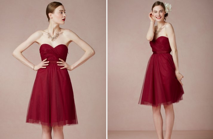 Bridesmaids style Red is the New Black 9