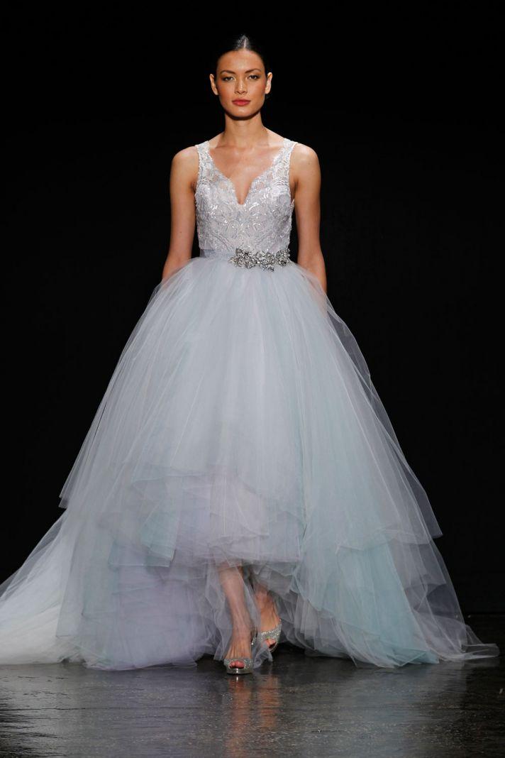 3414 wedding dress by Lazaro Spring 2014 Bridal