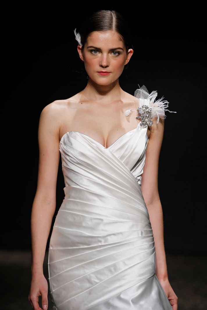 3408 wedding dress by Lazaro Spring 2014 Bridal