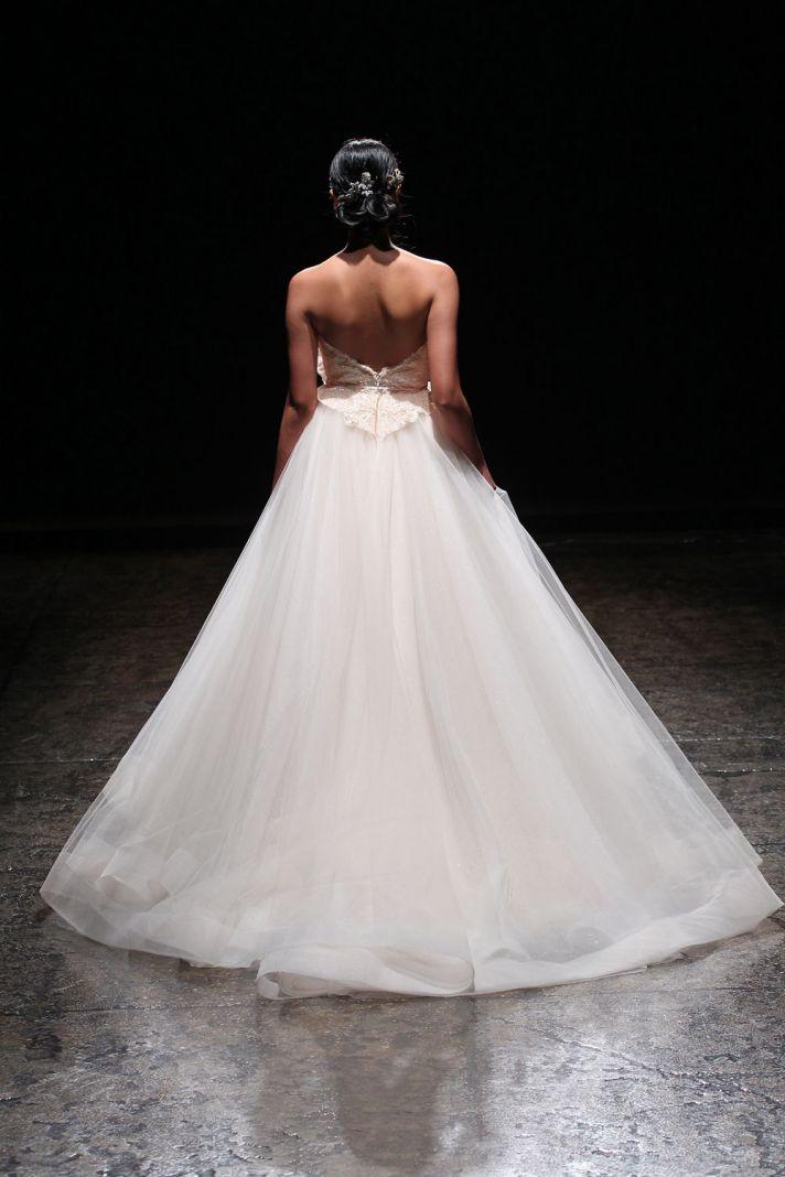 3403 wedding dress by Lazaro Spring 2014 Bridal