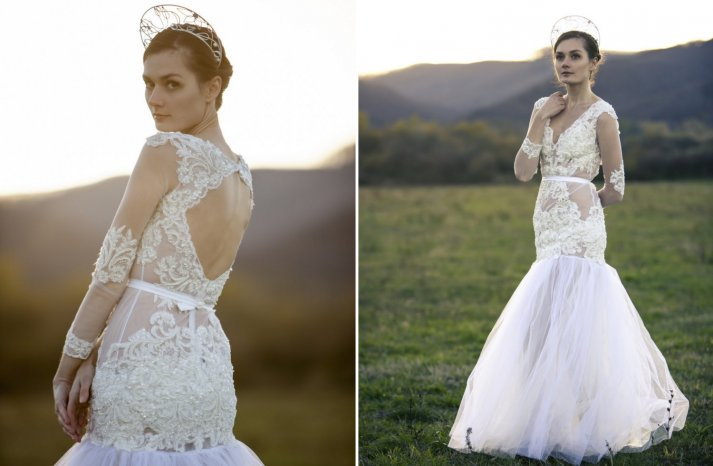 Custom wedding gowns by Atelier De Couture Bridal 6