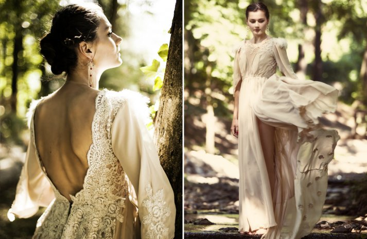 Custom wedding gowns by Atelier De Couture Bridal 11