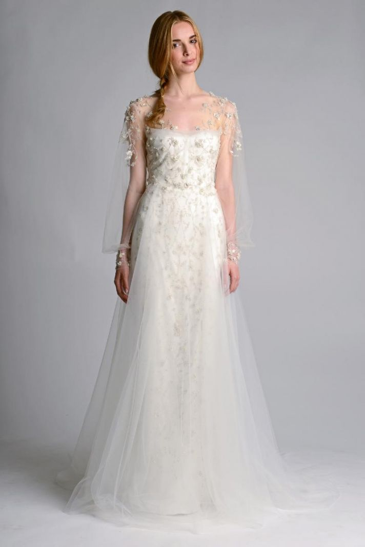Ethereal new wedding dresses by marchesa onewed for Wedding dresses for bridesmaid