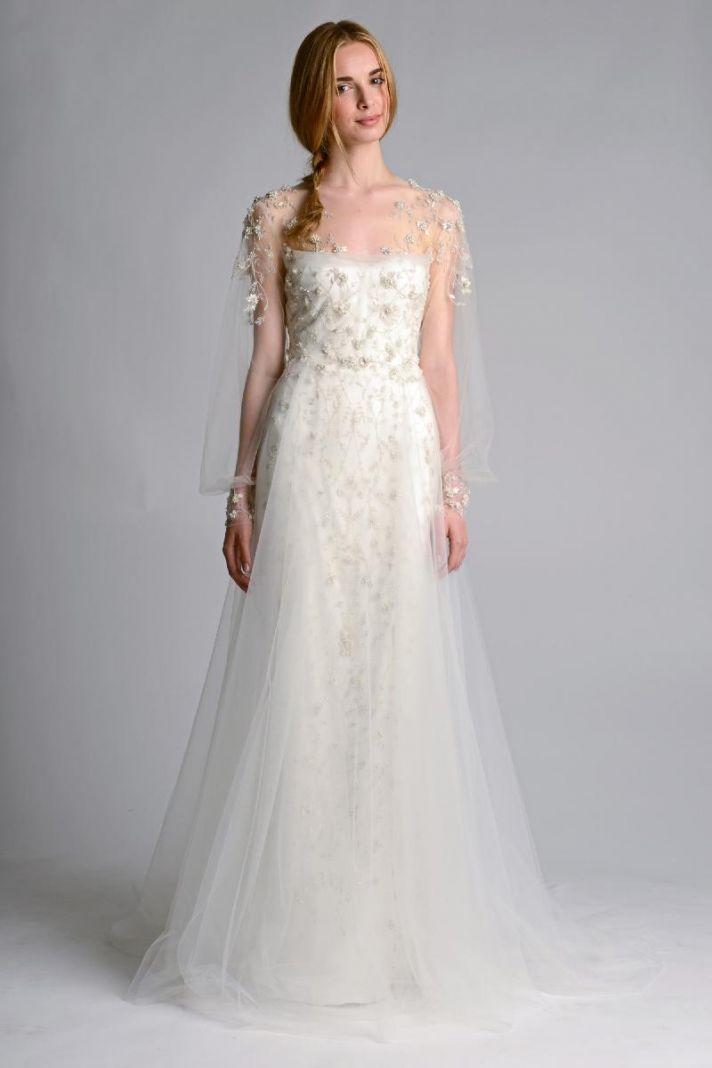 Ethereal Wedding Dresses 0 Simple Wedding dress by Marchesa