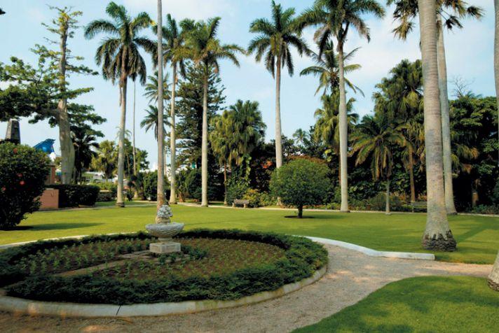Somers garden in Bermuda