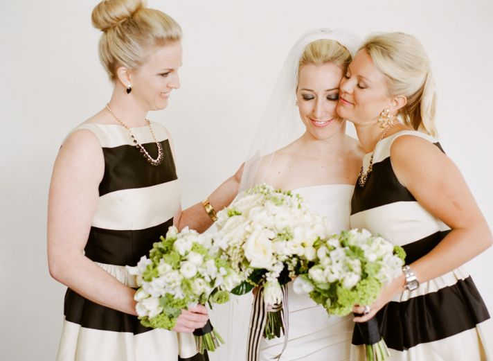 black cream and green wedding color inspiration