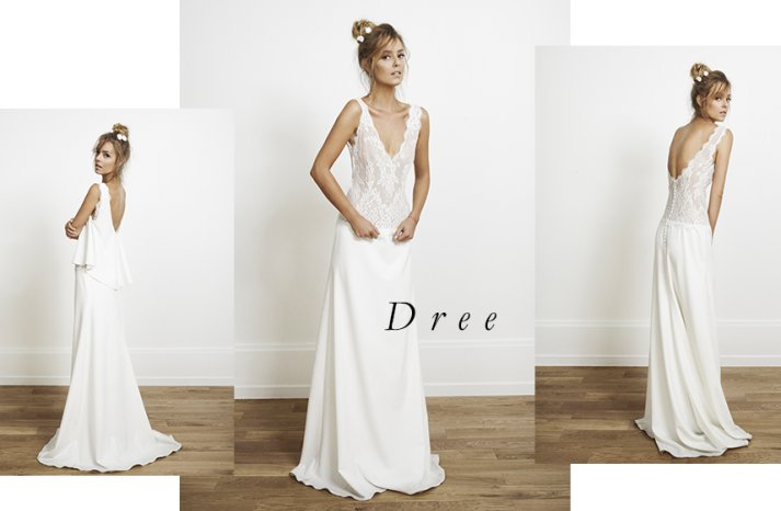 Dree wedding dress by Rime Arodaky for Alternative Brides