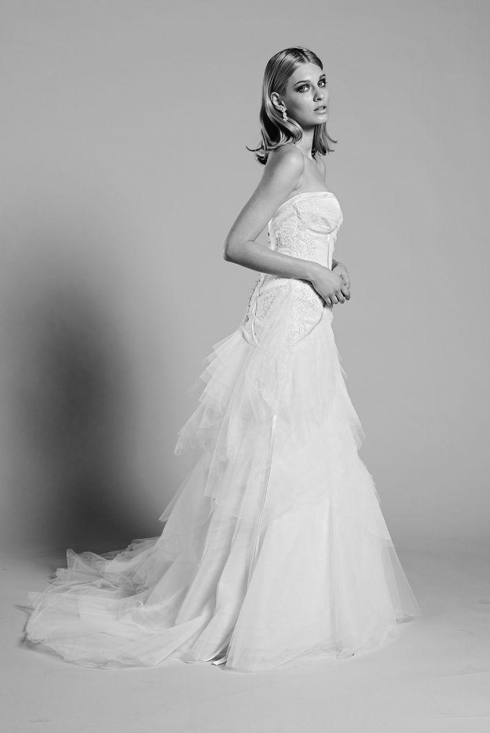 Ivory Indigo wedding dress by Mariana Hardwick 2014 bridal