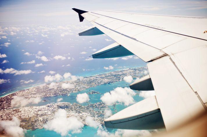 honeymooning in Bermuda a quick flight from the east coast
