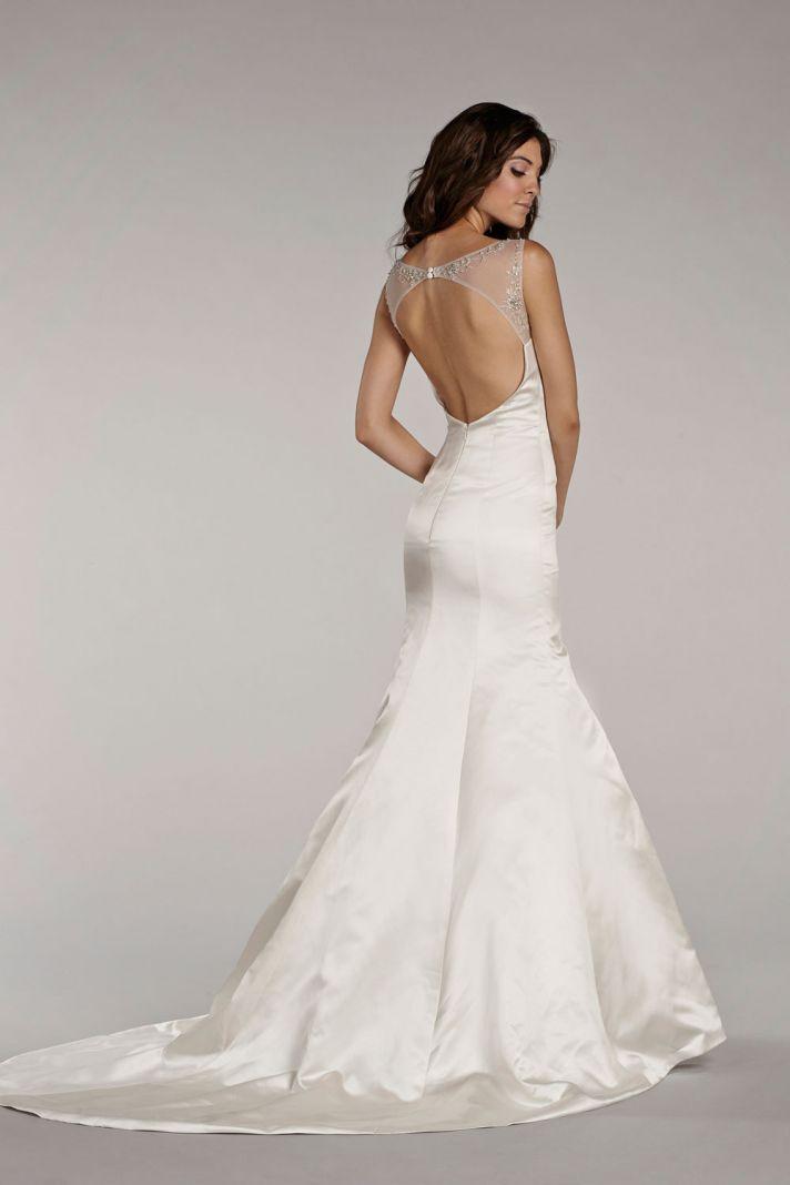 Lazaro Blush Wedding Dress 95 Trend  Front