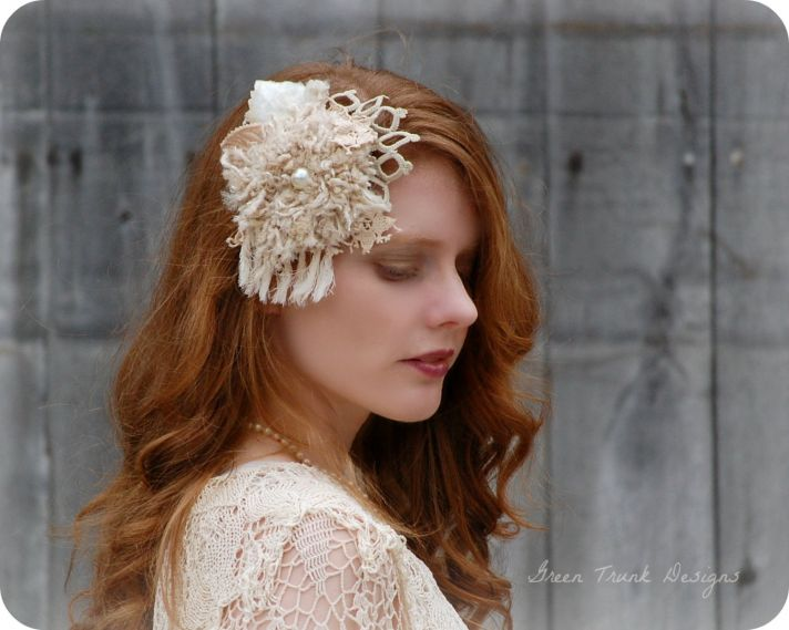wedding head chic for December brides 1