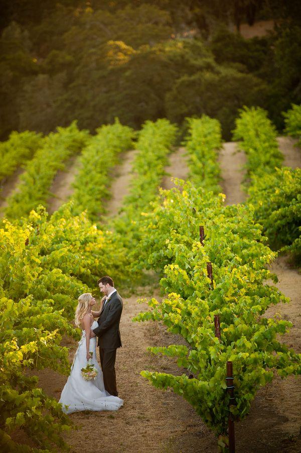 Simply Gorgeous Vineyard Real Wedding In California OneWed