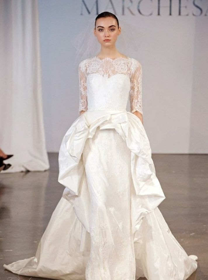 Marchesa via Black Bride