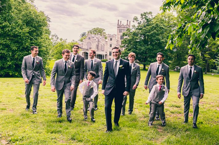 NY Real Wedding Groomsmen