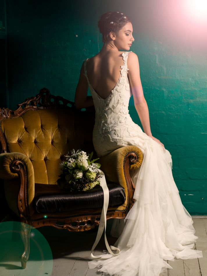 Dahlia back seated by Sarah Janks Fall 2014 Collection