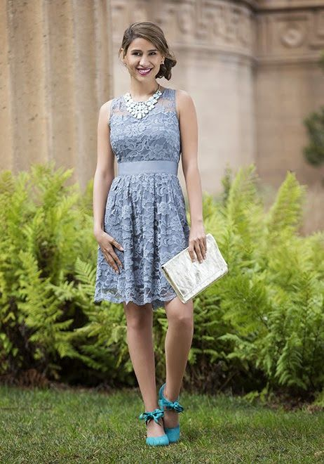 Taupe bridesmaids dress from ModCloth