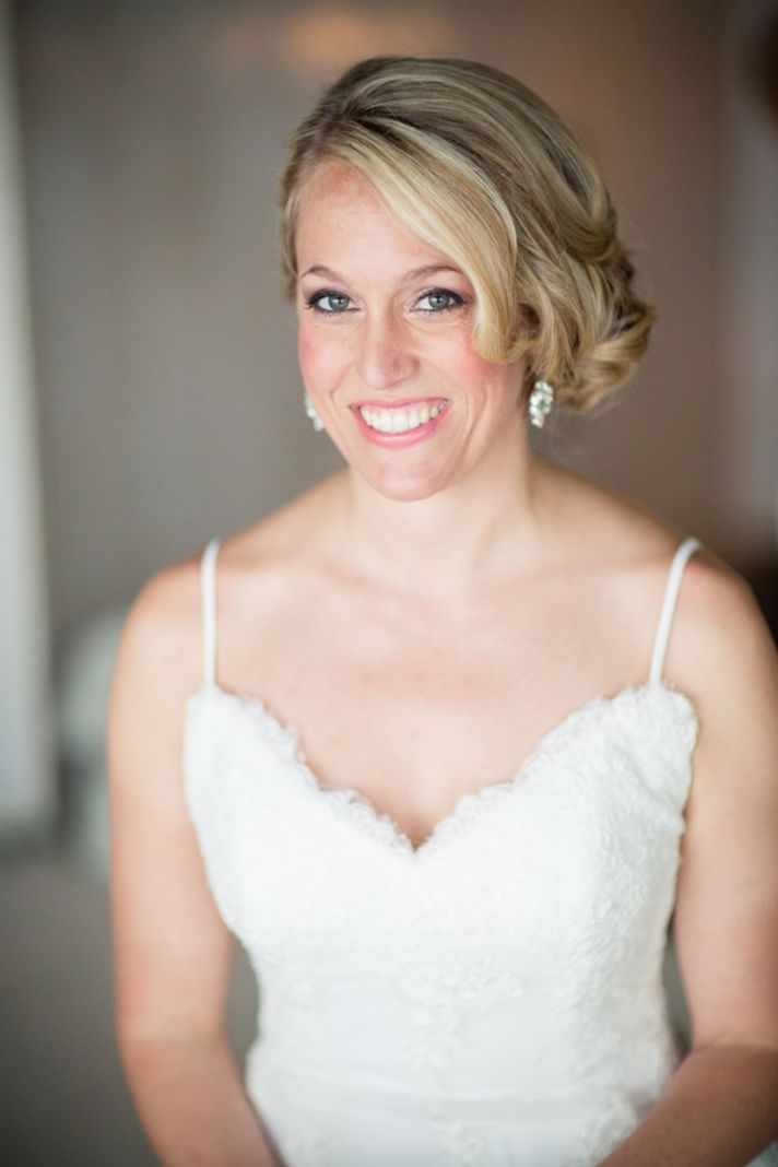 Real bride beauty