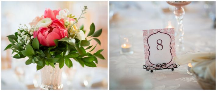 Table numbers and decor
