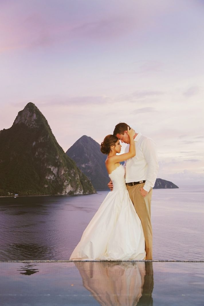 Real wedding in St Lucia