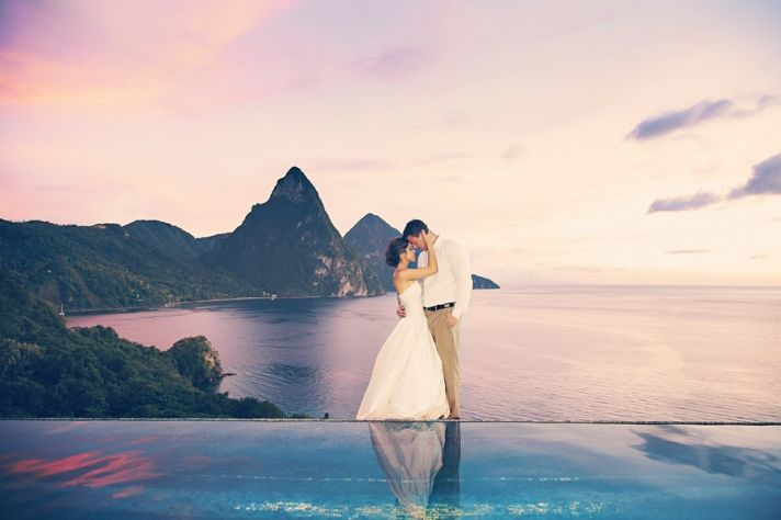Destination Wedding Romance And Revelry In St Lucia