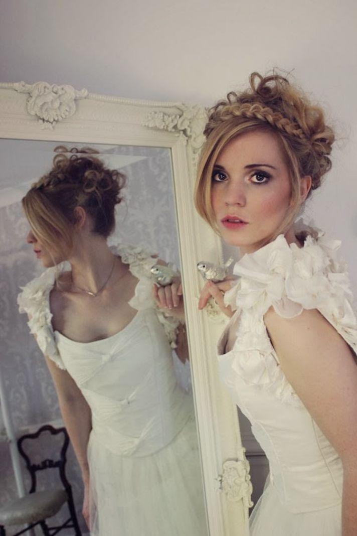 Bridal shrug from Anna D Sousa
