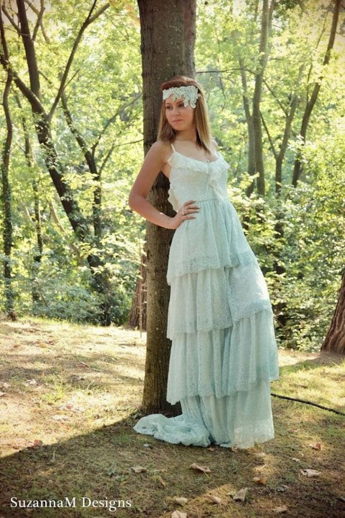 Wedding gown by Suzanna M Designs