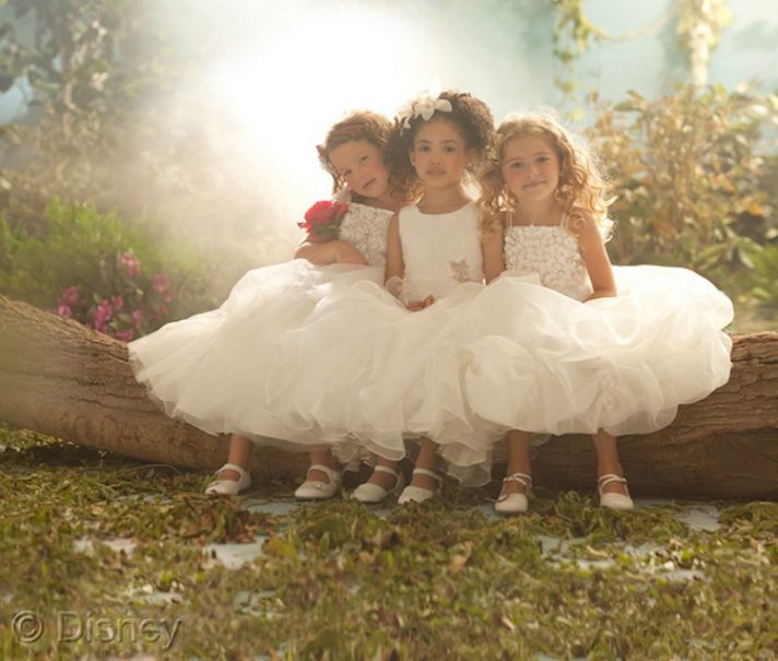 Alfred Angelo Disney Blossoms Flower Girl Dresses